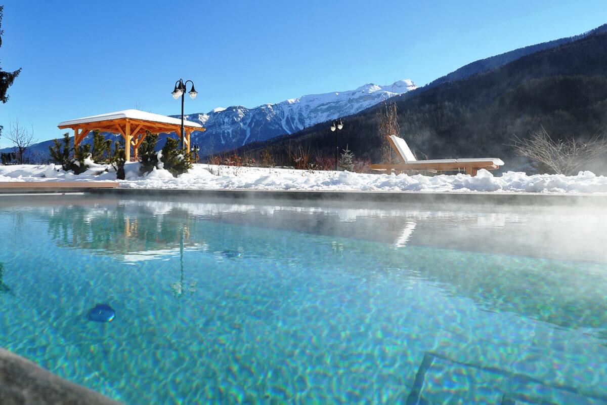 Hotel con piscina riscaldata in trentino val di sole hotel salvadorihotel salvadori - Hotel con piscina riscaldata montagna ...
